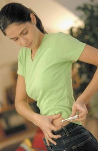 picure d'insuline - diabète de type 1
