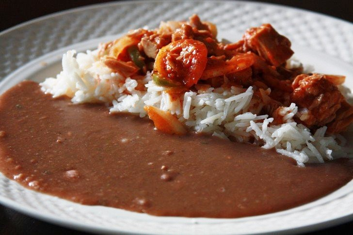 sos pwa rouge avec riz