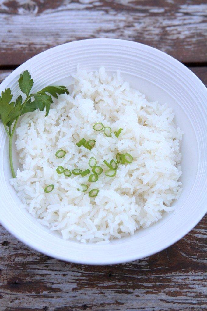 cuisine haitienne - riz blanc haitien