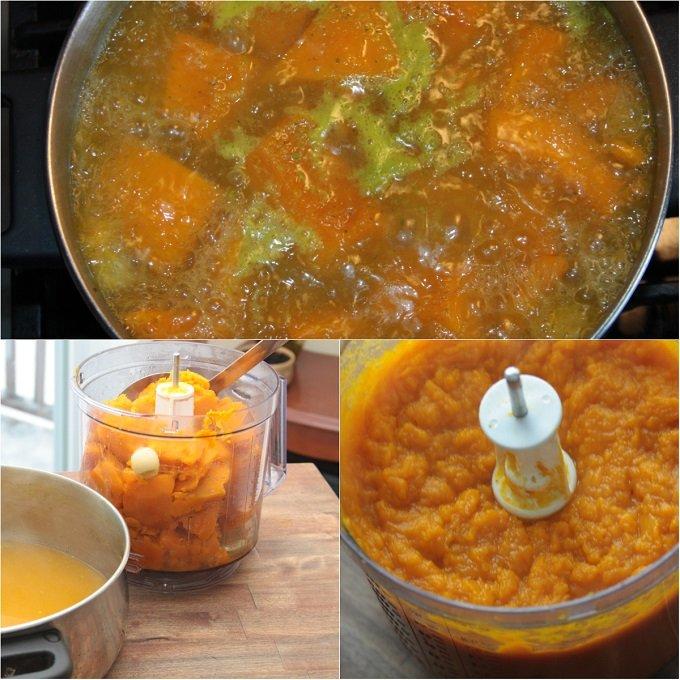 soup joumou collage
