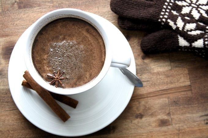 tasse de chocolat chaud haitien