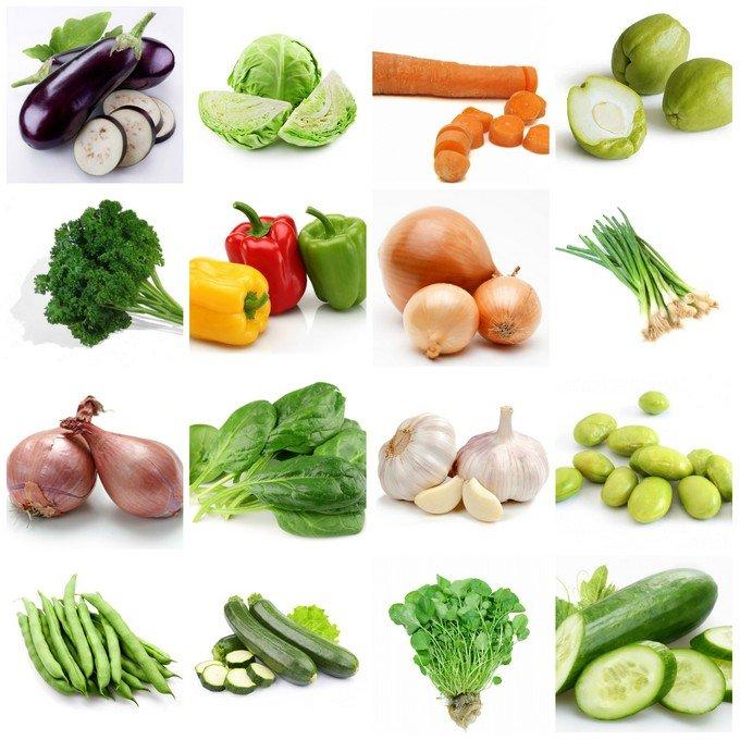 tableau de legumes haitien