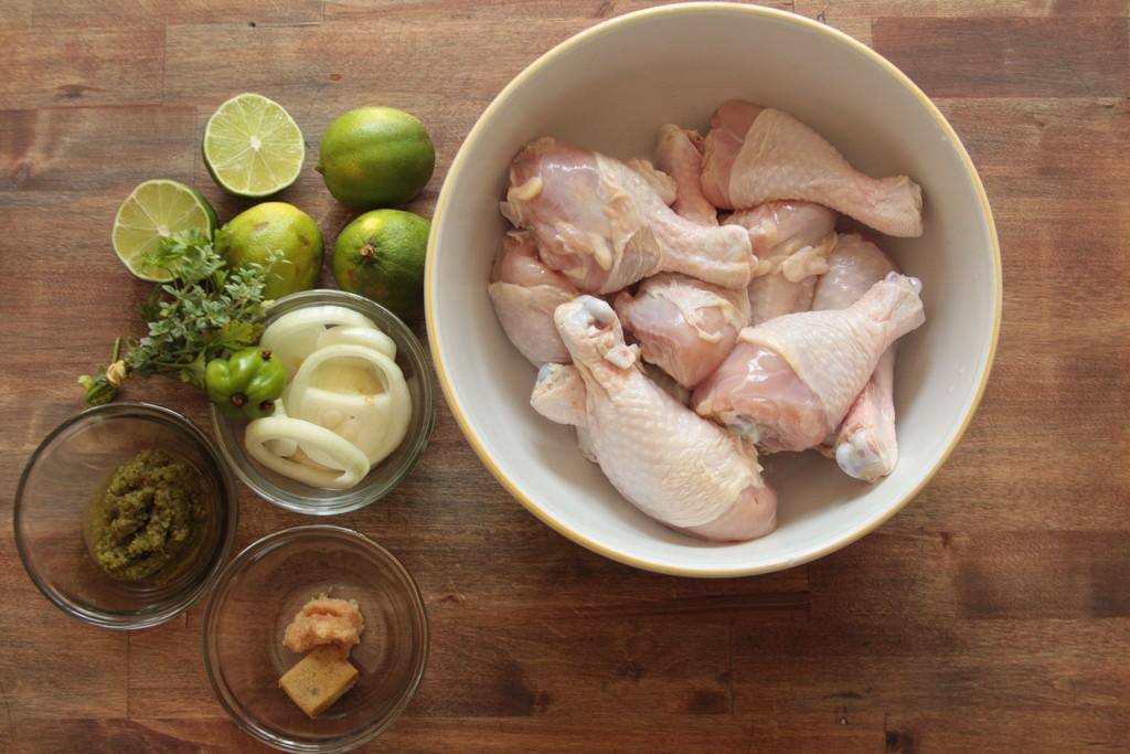 poulet en sauce ingrédients