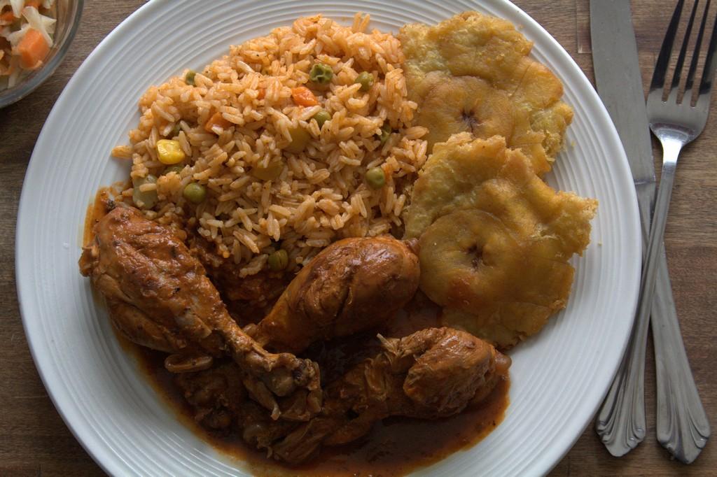 Le Poulet En Sauce Haitien
